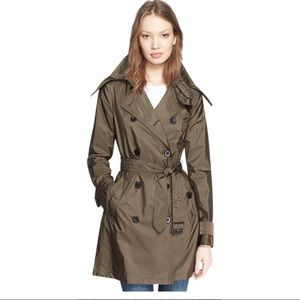 Burberry Brit Trench Coat /Jacket Military Olive